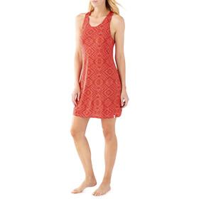 Smartwool Basic Merino 150 Pattern Dress Women Bright Coral